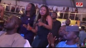 Video: Enjoys Kiss Daniel As He Performs Iive On AY Live